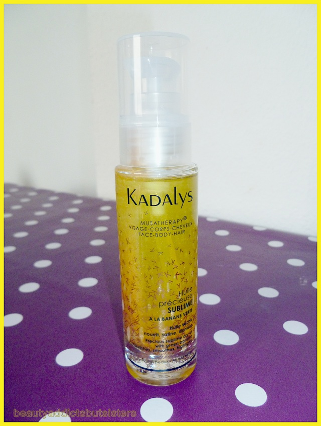 Kadalys - Huile précieuse sublime