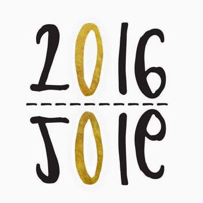 2016 est arrivée, nous vous souhaitons tout pleins de bonnes choses